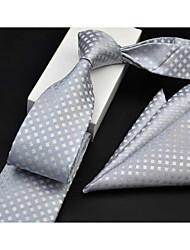 cheap -Men's Cotton Necktie - Art Deco Print