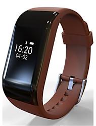 Per donna Smart watch Orologio alla moda Digitale Silicone Banda Nero Blu Arancione Marrone Viola