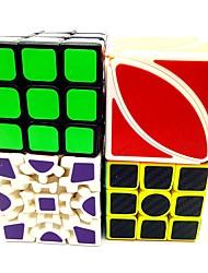 Недорогие -Кубик рубик Углеродное волокно 3*3*3 2*2*2 Спидкуб Кубики-головоломки Устройства для снятия стресса головоломка Куб Образование Подарок