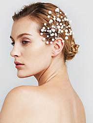 Недорогие -женские ювелирные изделия перлы волос цветка заколки для свадьбы (набор из 6)