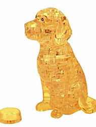 preiswerte -3D - Puzzle Holzpuzzle Kristallpuzzle Hunde Turm Pferd Bär Tier 3D Kunststoff Eisen Unisex Geschenk