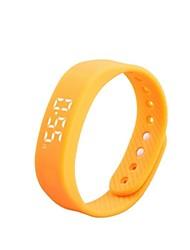 Per donna Smart watch Orologio alla moda Digitale Silicone Banda Nero Blu Rosso Verde Giallo