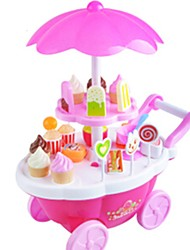 cheap -Toy Cars Toy Food / Play Food Pretend Play Toy Candy Cart Toys Ice Cream Music & Light Plastics Children's 1 Pieces