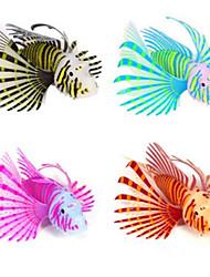 Décoration d'aquarium Poisson Artificiel Lumineux Silicone