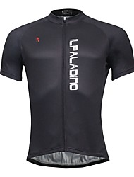 Breathable And Comfortable Paladin Summer Male Short Sleeve Cycling Jerseys DX772 Black