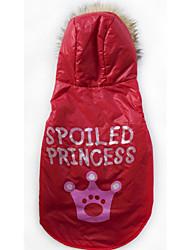 baratos -Cachorro Camisola com Capuz Colete Roupas para Cães Casual Tiaras e Coroas Ocasiões Especiais Para animais de estimação