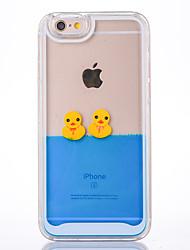 Étui pour iphone 6 6s couverture de boîtier cloches motif de canard pc matériel étui de téléphone mobile pour iphone 6 plus 6s plus 5 5s