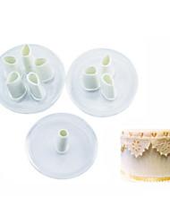 abordables -1 Horneando Herramienta para hornear / Nueva llegada / Gran venta Galleta Plástico Utensilios para hornear y pasteles