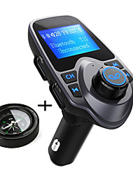 cheap -Original T11 Bluetooth Car Kit Handfree FM Transmitter MP3 Music Player Dual USB Car Charger Support TF Card U Disk Play