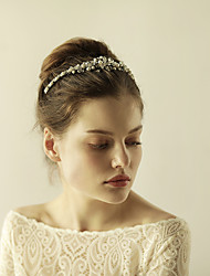 imitace perlové rhinestone tiaras hlavice klasického ženského stylu