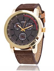 Per uomo Orologio sportivo Orologio militare Orologio alla moda Orologio da polso Creativo unico orologio Orologio casual Cinese QuarzoPU