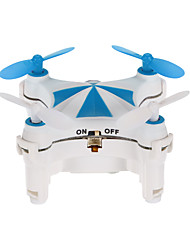 RC Drone CX-OF blue 4 Canaux 6 Axes 2.4G Avec l'appareil photo 0.3MP HD Quadri rotor RC FPV Eclairage LED Auto-Décollage Vol Rotatif De