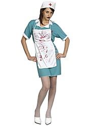 Scheletro/Teschio Costumi da zombie Cosplay Un Pezzo/Vestiti Costumi Cosplay Donna Unisex Halloween Carnevale Giorno della morte