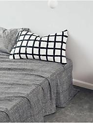 Comfortable Cotton Flat Sheet Stripe