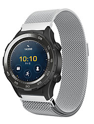 abordables -For huawei watch 2 milanese acero inoxidable pulsera banda de reloj