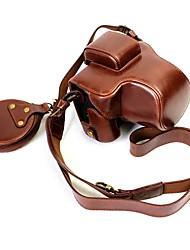 Недорогие -Dengpin pu кожаный чехол для сумки для канона eos m5 15-45 мм объектив (различные цвета)