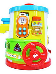 Toy Instruments Toys Circular Cartoon Oval Plastics Hard plastic Pieces Kid Unisex Gift