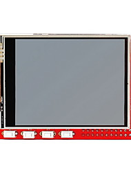 "cheap -2.8"" TFT 320 x 240p Touchscreen Display Module for Raspberry Pi B+ / B - Red"