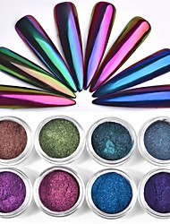 Optical Chameleon Mirror Changeable Glitter Powder Color 0.3g