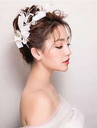 economico -piuma fasce fiori copricapo classico stile femminile