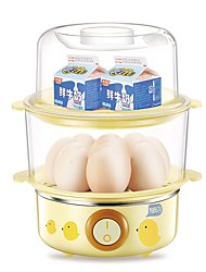 LIFE ELEMENZDQ-2071LEEgg Cooker Double Eggboilers Kitchen 220V Multifunction Light and Convenient Cute Low Noise Power light indicator Lightweight Low