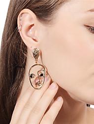 Femme Boucles d'oreille goutte Mode Personnalisé Métallique Alliage Bijoux Pour Soirée Anniversaire Autre Quotidien Cérémonie Décontracté