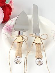 New Style Christmas Ring Cake Knife Set