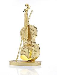 DIY KIT 3D Puzzles Jigsaw Puzzle Toy Instruments Toys Violin Musical Instruments 3D Unisex Pieces