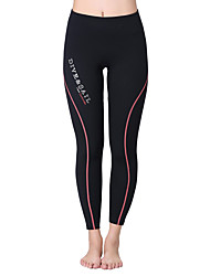 cheap -Dive&Sail Women's 1.5mm Wetsuit Pants Waterproof Thermal / Warm Quick Dry Ultraviolet Resistant Wearable Breathable Sunscreen Comfortable