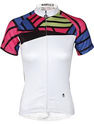 cheap -ILPALADINO Women's Short Sleeve Cycling Jersey Fashion Bike Jersey, Quick Dry, Summer, Polyester / Stretchy