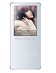 X55 HIFI MP3  Lossless Music Player Support OTG Portable FM Radio Can Be Extended 128GB
