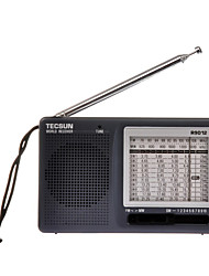 TECSUN R-9012 Portable Radio Built in out Speaker Gray