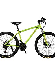 Mountain Bike Cycling 21 Speed 26 Inch/700CC SHIMANO 30 Double Disc Brake Suspension Fork Ordinary Ordinary/Standard Steel Tube