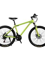 Mountain Bike Ciclismo 21 Velocità 26 pollici/700CC SHIMANO 30 Doppio disco freno Forcella Ammortizzata Semplici Semplici Tubo d'acciaio
