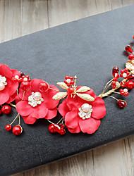 baratos -Tela de tecido de tuleira, flores, cabelo, clipe, cabeça, clássico, feminino, estilo