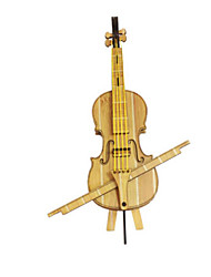 DIY KIT 3D Puzzles Jigsaw Puzzle Toy Instruments Toys Piano Violin Musical Instruments Horse Architecture Carousel 3D Simulation Unisex