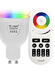 cheap -5W GU10 LED Smart Bulbs A60(A19) 12 leds SMD 5730 Infrared Sensor Dimmable Remote-Controlled WIFI APP Control Light Control RGB+White 500