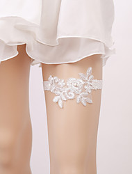 cheap -Garter Elastic Imitation Pearl Appliques Wedding Accessories Beautiful