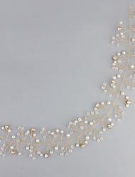 Imitation de perle Acrylique Strass Serre-tête Casque