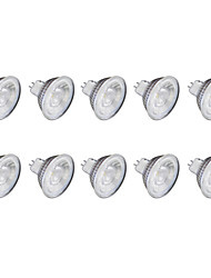 cheap -6W GU10 LED Spotlight MR11 1 leds COB Warm White Cold White 1lm 6500K 220V