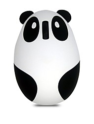 Cute Panda Wired Office Mouse