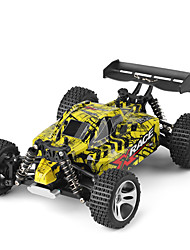 RC Car WL Toys 18401 2.4G Off Road Car High Speed 4WD Drift Car Buggy 1:18 Brush Electric 22 KM/H Remote Control Rechargeable Electric