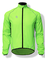 SPAKCT Cycling Jacket Men's Bike Top Fast Dry Windproof Lightweight Solid Mountain Cycling Road Cycling Cycling Bike/Cycling Mountain