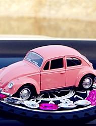 Diy автомобильные украшения аромат вода классический автомобиль жук игрушки нескользящие коврики булочки лук автомобильный