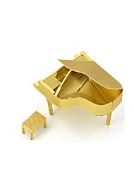 Недорогие -Пазлы Металлические пазлы Пианино 3D Своими руками Медь Металл Универсальные Подарок