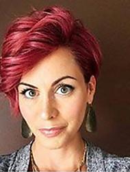 Недорогие -Более удобные здоровые короткие человеческие волосы парики