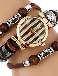 Per donna Bambini Orologio braccialetto Creativo unico orologio Orologio casual Cinese Quarzo Resistente all'acqua PU BandaBraccialetto