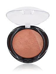 1Pcs Miss Rose  For Black Women Beauty Face Blush Makeup Baked Cheek Color Bronzer Blusher Palette Colorete Sleek Cosmetic Shadows
