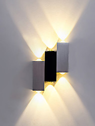LED Integrated Modern/Contemporary Brushed Feature for LED,Ambient Light Flush Mount wall Lights Wall Light