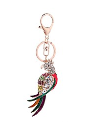 cheap -The Parrot Keychain Jewelry Dangling Style Animal Design Euramerican Fashion Personalized Adorable Women